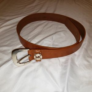Michael kits leather belt